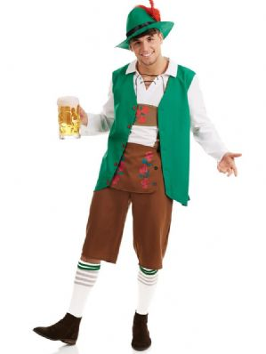 Traditional Bavarian Man Plus size fancy dress costume Costume (4156)